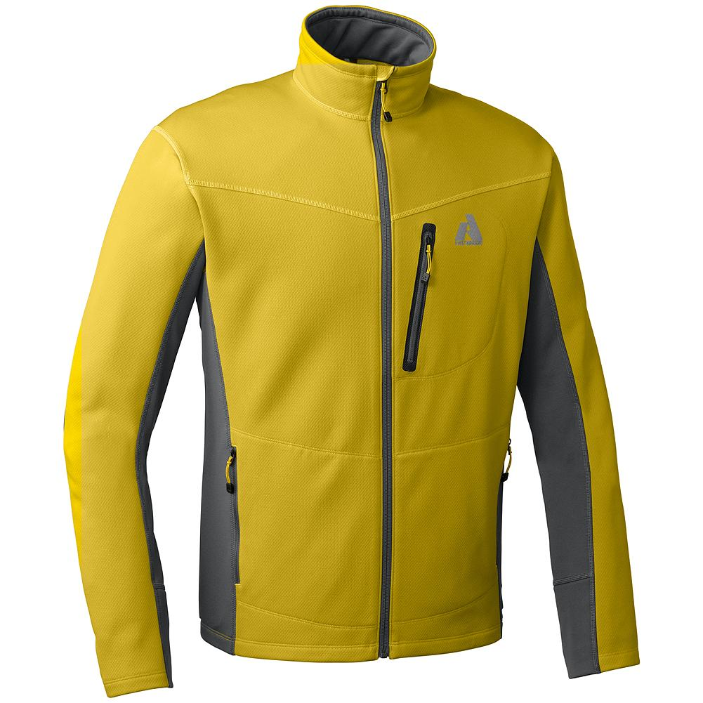 Entertainment Eddie Bauer Hangfire Jacket - Discontinued Colors - Made for versatility, this fleece jacket moves easily between activities and seasons. Use as outerwear, or layer it under a shell when the weather turns nasty. Soft fabric and breathable stretch panels provide warmth and mobility in any situation. - $69.99