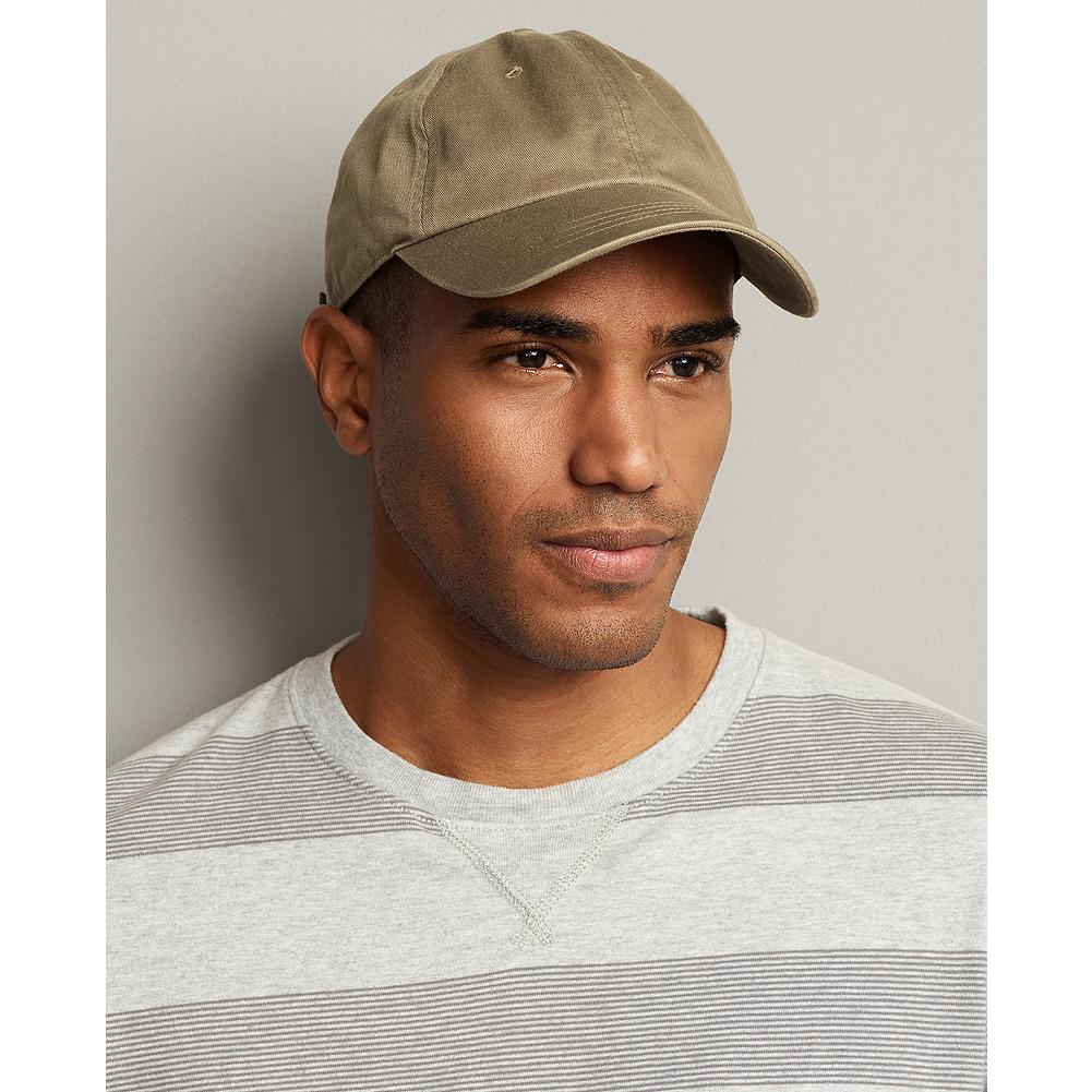 Sports Eddie Bauer Cotton Baseball Hat - From the ballpark to the beach and beyond, this is the kind of cap you never want to leave home without. Made of soft cotton twill with an adjustable strap for a customized fit. - $19.95