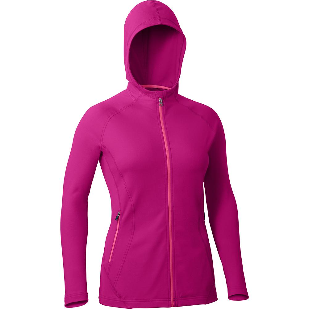 Eddie Bauer Motion Full Zip Hoodie - Designed for cool-weather layering or crisp air workouts, this stretch-fleece hoodie provides great active range. A trim, active fit keeps bulk to a minimum. - $39.99