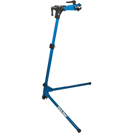 "Let's face it, working on your bike is no fun if you're bent at the knees fumbling with it as it rolls along the workbench at home. Why not make life easy, stand erect like nature intended, and get that cable replaced like a seasoned Pro mechanic' The Park Tool PCS-10 Home Mechanic Repair Stand is exactly what you need to secure your bike at a proper working height so your maintenance will be that much easier and quicker.The PCS-10 Repair Stand has a cam-actuated clamp that has adjustable jaws that can safely accommodate frame tubes from 7/8"" to 3"". They open along the plane of the bike, so they work great for deep, aero-shaped frame tubes. The clamp head can be rotated to work on your bike at any angle. And to accommodate different sized bikes and different sized mechanics, the Home Mechanic Repair Stand is height adjustable from 39"" to 57"" at the clamp.Park's PCS-10 Home Mechanic Repair Stand is stable on any surface with its three-point leg system. And it folds into a tidy 41"" package for easy storage when not in use. - $175.00"