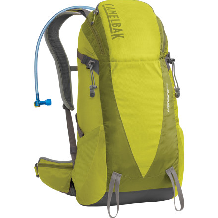 Fitness Instead of lugging around your backpack and having to stop and pull out your water bottle every time you're thirsty, invest in the CamelBak Highwire 25 Hydration Pack. Its 100-ounce Antidote reservoir with Quick Link system keeps you well hydrated while you explore the backcountry or play tourist in your home town when the family comes to visit. The Highwire's low-profile design offers plenty of space for you to stash extra layers, a rain jacket, head lamps, maps, and some food. A comfortable load-bearing hip-belt has a spare pocket for you to put your camera or sunscreen, and its trekking pole and ice axe mounts make the Highwire extremely versatile when you want to take it off the grid. - $79.80