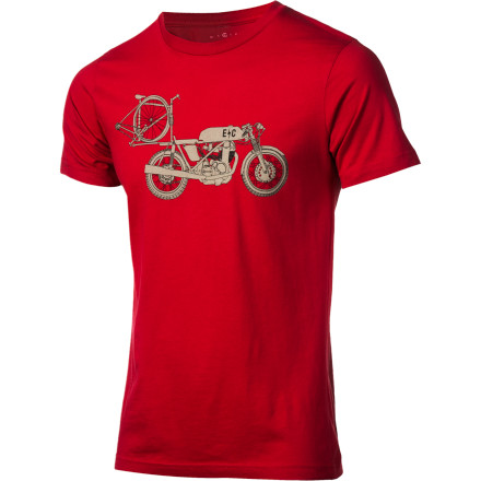 Fitness Throw your ride on your ride and ride to the ride. The Endurance Conspiracy Two-Fer T-Shirt drapes you in every gearhead's dream. Endurance Conspiracy is owned and managed by passionate endurance sports enthusiasts who are in it for much more than a quick buck. EC is a company that has been built around the idea of an outdoor community. Its products are designed to be as Earth-friendly as possible in a fun-not-preachy way. All Endurance Conspiracy T-Shirts are made with 100% organic cotton and adhere to Bluesign resource productivity,consumer safety, air emission, water emission, and occupational health and safety standards. The Endurance Conspiracy Mens Two-Fer T-Shirt is available in sizes S through XXL and comes in Lava. - $29.95