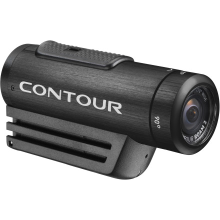 Extreme Contour took its popular Roam helmet camera and massaged some new features into it to create the Roam2 Camera. The Roam2 has the same tough-as-nails camera platform, but now it features new colors, improved video quality, and the capability to shoot video up to 60fps at 720p. Attach one of the many mounts to your handlebars, board, or boat, fire up the built-in laser level to get your angle just right, and flip the massive, lock-on button in place. Soon you'll have all the gnarly footage you need to become the next internet sensationoooh, your mom will be so proud.Metal case is fully waterproof to one meter without an additional housing Case shape is streamlined and aerodynamic so it doesn't feel bulky on your head or act like a brick on the hood of your car Locking instant-on record switch is dead simple and easy to operate with gloves on Shoot at 60fps in 720p and get the cleanest slow-motion video imaginable Choose from three different HD video recording modes and either a single still photo or a time-lapse mode that shoots from every second to every sixty seconds Video settings can be managed with the Contour desktop software with your camera attached to your desktop computer via USB connection Built-in microphone records in C audio format for crisp sound reproduction Wide-angle, glass-element lens rotates 270 degrees so you can get the perfect angle and most level video Rechargeable battery lasts up to 3.5 hours so you can shoot marathon bike rides, multiple B.A.S.E. jumps, or half a day of shredding in the snow Built-in front-mounted laser helps you align and aim your camera for the perfect shot Camera ships with a 4GB MicroSD card so your camera is ready to shoot right out of the box Includes profile mount and rotating surface mount and is compatible with all Contour Roam camera mounts - $199.95