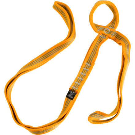 Climbing When youre stuck rigging a tricky anchor or reducing rope drag, the Mammut Belay Sling Polyamid Sewn Runner comes in handy. The length and strength of this runner allow you the versatility to help construct a balanced and solid belay at the crag. - $11.92