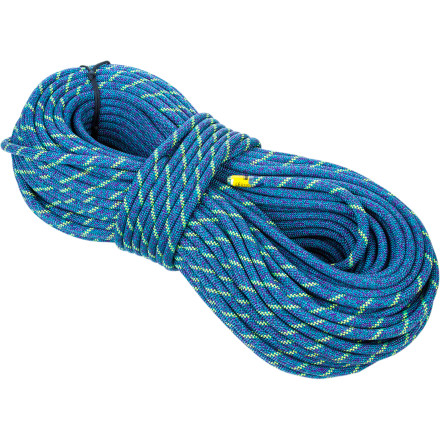 Climbing The Sterling Fusion Ion2 Bi-Color Climbing Rope combines every feature you'd hope for in a performance sport-climbing cord. The slender 9.4mm diameter provides the low weight and easy handling demanded by hard sport routes while the attractive bi-pattern sheath design serves as a reliable middle-mark for increased safety. - $210.60