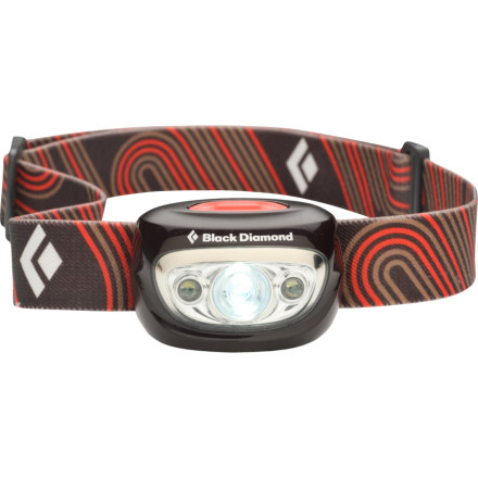 Climbing Do you ever leave your headlamp to behind save weight' With the 1.6oz Black Diamond Cosmo, you'll never be caught in the dark again. This compact headlamp uses four SuperBright LEDs inside a tiltable head to light the way when your day in the outdoors runs into overtime. Powered by three batteries in the front housing, the Cosmo even has a removable headband for times when you need a light, but don't need it strapped to your head. - $20.97