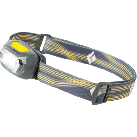 Climbing Camping solo without a fire isn't such a sacrifice with the long-lasting light of the Black Diamond Gizmo Headlamp. With help from the two SinglePower LEDs, you chow down your freeze-dried feast, stow your food, and then have enough juice left to read a few chapters before you drift off into woodsy dreams. - $19.95