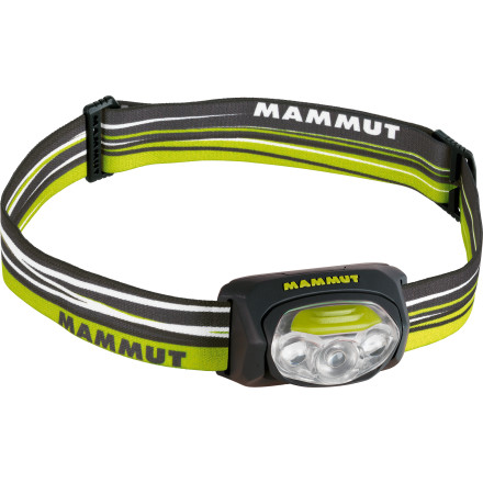 Climbing For a small headlamp, the Mammut T-Peak packs a lot of luminosity. Stash this trusty headlamp in your ammo can or backpack before a weekend of camping and backpacking in the Uintas. - $49.95