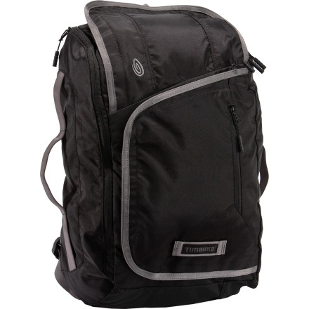 Camp and Hike The Timbuk2 Hal Daypack doesn't really care what you call it. You can call it George if you want, but it still just wants to carry your stuff. With a padded laptop sleeve, secure zip pocket with key clip, and dedicated power cord pocket, Hal is pretty good at what he does. - $76.27