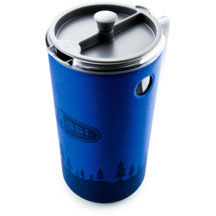Camp and Hike Nothing will make you a hero in the eyes of your fellow campers or skiers faster than whipping up a great cup of coffee with the GSI Outdoors Java Press. This lightweight, easy-to-use system includes a silicone plunger design that virtually eliminates blow-by for an extra-flavorful cup. Lightweight, BPA-free, and shatter-resistant material holds up to years of life outdoors. - $39.95