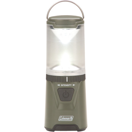 Camp and Hike Bright things come in small packages, as proved by the Coleman High Tech LED Mini Lantern. This compact, highly portable lantern can be powered either by three  batteries or by the Coleman CPX rechargeable power cartridge (sold separately). Light up your tent or picnic table on your next camping weekend. - $24.95