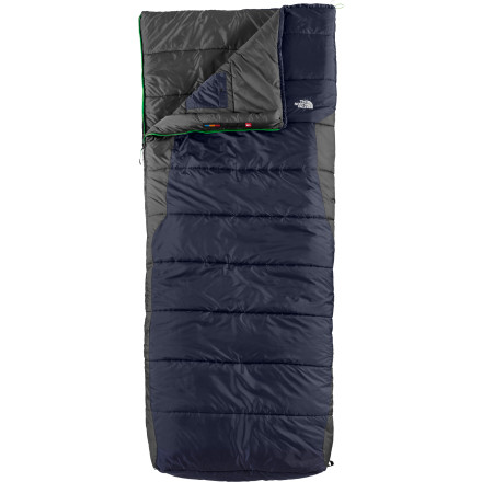 Camp and Hike Not everyone likes the feel of a mummy bag; some folks find that the tapered design feels restrictive. The North Face gets it. The Dolomite 3S Bx Sleeping Bag packs all the features of its high-end mummy siblings with the freedom that a rectangular bag affords. - $118.95