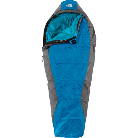 Camp and Hike Kids may just be looking to take a cat nap when they curl up into the North Face Super Cat Kids' 20 Degree Down Sleeping Bag, but they'll be so comfortable they may end up hibernating. The lightweight ClimaShield HL insulation has superior insulating properties to keep kids warm without weighing down their (or your) packs, and the adjustable hood traps heat around their heads for ultimate coziness. When they need to cinch up the hood in the middle of the night, color-differentiated, fumble-free drawcords make it a breeze to adjust the hood, and a glow-in-the-dark zipper pull makes it easy to find in case of middle-of-the-night bathroom emergencies. - $118.95