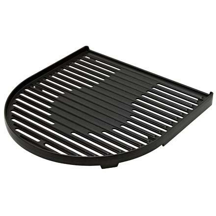 Camp and Hike The Coleman RoadTrip Accessory Grill covers half your Coleman grill with a drip-through grill surface. Mix it with a griddle or another grill top for cooking different kinds of food. Cast iron construction means it has even heat distribution and a non-stick coating makes cleanup easy. The RoadTrip Grill is even dishwasher safe. - $34.95