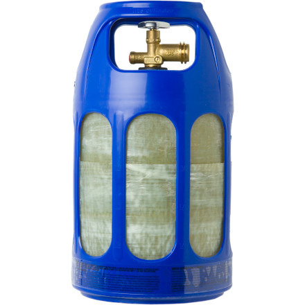 Camp and Hike Lite Cylinder 10 lb Propane Cylinder - $89.95