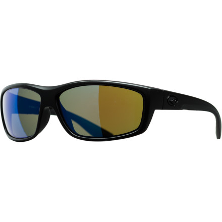 Entertainment You want the Costa Del Mar Saltbreak Blackout Polarized Sunglasses because these shades know how to party when it's insanely bright outside. Smooth frame lines make for a clean look, glass lenses mean precise and crystal-clear optical performance, and a polarized lens treatment practically eliminates blinding glare from the water or other highly reflective surfaces. How you lived without these shades is a mystery. - $228.95