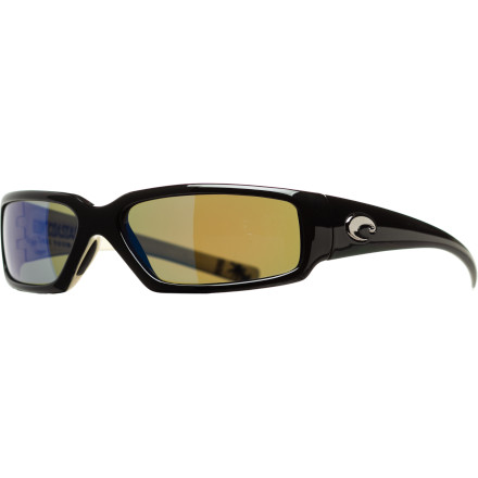 Entertainment When you're about to hook into a marlin in Guatemala or fly through the rainforest canopy on a zip line in Costa Rica, put on the Costa Del Mar Rincon Kenny Chesney Edition Sunglasses. These distinctive-looking shades feature 580 glass polarized lenses that let you see the world through high definition. - $153.27