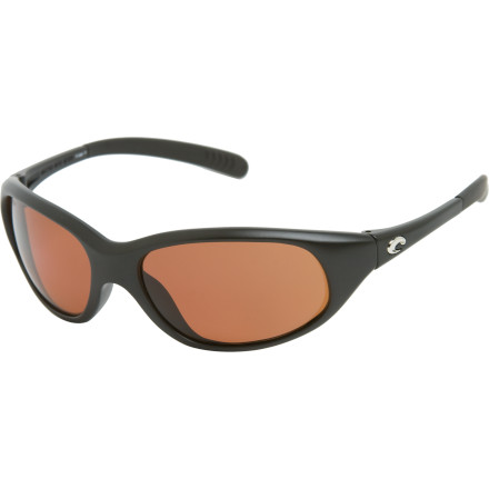 Entertainment The Costa Del Mar Wave Killer Polarized Sunglasses are already legendary among fishermen and sportsmen for their comfort, durability, and performance; now that they're available in the lightweight, durable 580P polycarbonate lenses, they're even better than ever. - $111.71