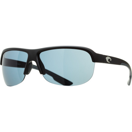Entertainment Accompany your beach attitude with a beach-worthy style and the Costa Del Mar Coba Polarized Sunglasses. Contoured lines complement the subtle logo detailing on the sides for an overall modern style. Costa built the Coba to blend as well with a poolside cocktail as it works with an afternoon round of sand volleyball. - $168.95