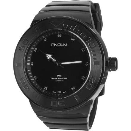 Entertainment The stylish PNDLM POP Watch features a hearty brushed alloy case that is water resistant to 50 meters  which is just over 150 feetin case you plan on stopping by the lake to bring home a delicious bass for your tetherball date. - $55.96