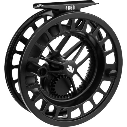 Flyfishing The designers at Sage really outdid themselves with the all-new 4600 Series Fly Reel. Thanks to its larger arbor design, this beauty provides faster line retrieval, more consistent drag, maximum line capacity, and reduced line coiling. So the next time you head out to your secret wading spot, reach for this strong, lightweight aerospace-grade aluminum reel instead of the one you used that snapped off your tippet. - $375.00
