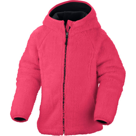 Columbia Cozy Cutie Fleece Hooded Jacket - Girls' - $37.46