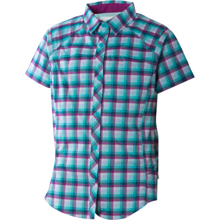 Columbia Silver Ridge Plaid Shirt - Short-Sleeve - Girls' - $17.97