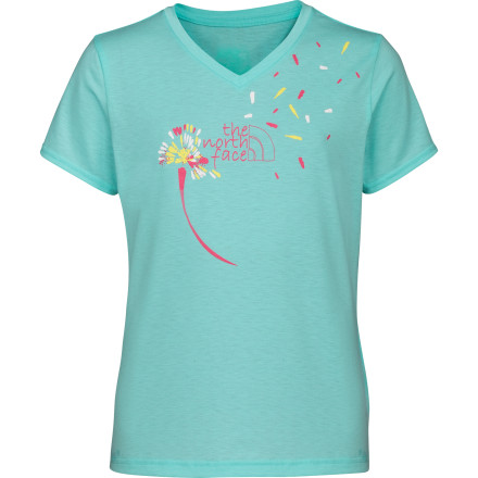 The North Face Dandies V-neck T-Shirt - Short-Sleeve - Girls' - $10.98