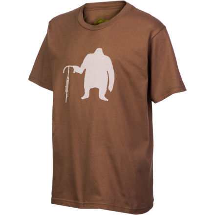 Hunting Clyde was a monkey. Some of you youngsters probably don't remember Clyde. You may think that the Endurance Conspiracy Boys' Clyde T-shirt depicts a silhouette of a beheaded extra-terrestrial. Keep in mind, however, that nobody has ever actually seen an extra-terrestrial. Plenty of people have seen monkeys, and Clyde was a monkey. Endurance Conspiracy is owned and managed by passionate endurance athletes who are in it for much more than a quick buck. EC is a company that has been built around the idea of an outdoor community. Its products are designed to be as Earth-friendly as possible in a fun-not-preachy way. All Endurance Conspiracy T-Shirts are made with 100% organic cotton and adhere to Bluesign resource productivity, consumer safety, air emission, water emission, and occupational health and safety standards. The Endurance Conspiracy Boys' Clyde T-Shirt is available in sizes XS through L and comes in Coffee. - $29.95