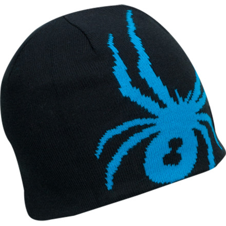 Ski When your little guy needs to stay warm on the walk to school, cover his head with the Spyder Reversible Bug Hat. If he bugs out about the design, he can simply flip the hat inside-out for a low-key look. - $24.95