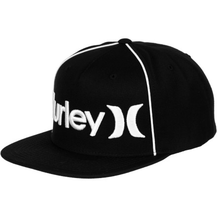 Fitness Throw on the Hurley Only Corp Flexfit Hat and then brush up on your ninja skills because you never know when you're going to have to run up a wall or chop through a tree just to show everyone how totally badass you are. - $24.26