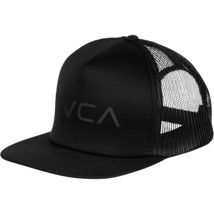 You love your gal pals, but you hate it when they get drunk and try to hook you up at the bar with cute girls. By pushing the brim down on the RVCA Trucker Hat you're able to at least partially hide when the girls point you out to the hottie across the way. - $17.95