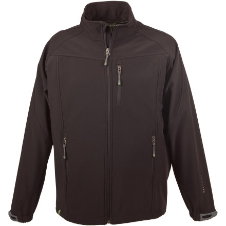 Camp and Hike When the wind howls and the sky looks semi-threatening, toss on the Earth-Tec Men's Tupelo Softshell Jacket before you hike, fish, or collect firewood. - $39.98