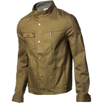 The workwear-inspired look of the Arbor Brigg Men's Jacket will have you looking so rugged that people will never suspect how comfortable you actually are. The cotton, viscose, and spandex shell is flexible and soft to keep you feeling cush, and the wool-lined collar helps you stay cozy when the wind picks up. - $129.95