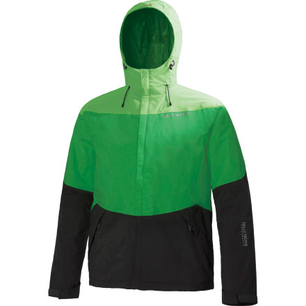 Named after one of the wettest places on the globe, the waterproof, breathable, and packable Helly Hansen Vancouver Tricolor Jacket will be your number one defense against foul weather on the trail as well as the streets. - $64.97