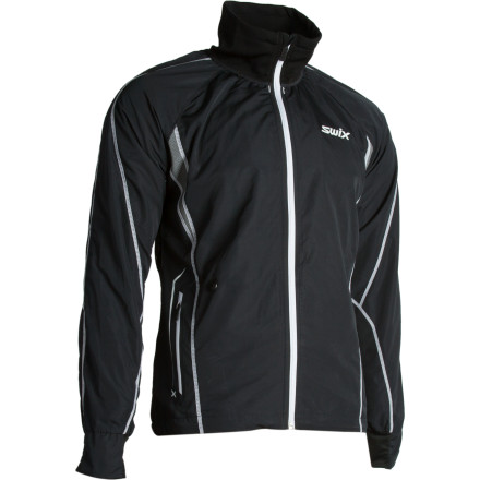 Loaded with all the style and technical features that you'd expect from Swix, the Men's Star XC Jacket is the ideal jacket for XC training on cold days. - $95.97