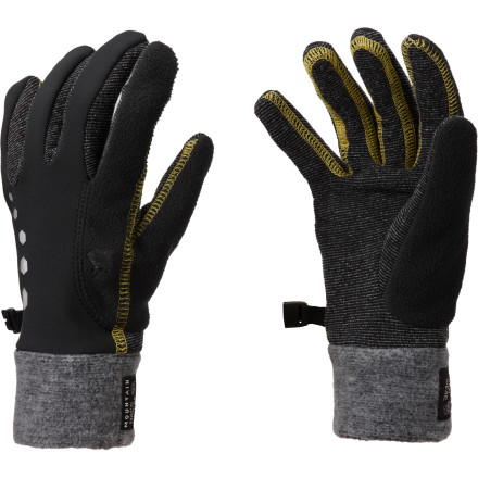 Fitness Instead of feeling like your fingers are going to freeze and fall off while you run, slip your hands into a pair of the Mountain Hardwear Women's Winter Momentum Running Gloves. Packed with windproof protection, these form-fitting gloves stop the wind in its tracks so your hands stay comfortable throughout your workout. - $27.97