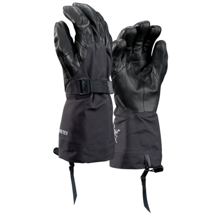 Ski Arc'teryx held nothing back when it developed the new Alpha SV Glove. Its designers tossed standard glove construction out and went back to the drawing board to re-design what a glove should be. With a lightweight, fully-articulated Gore-Tex Pro Shell outer glove and a removable Polartec Wind Pro liner, this glove blends protection, insulation, and breathability like no glove you've ever used before. - $192.47