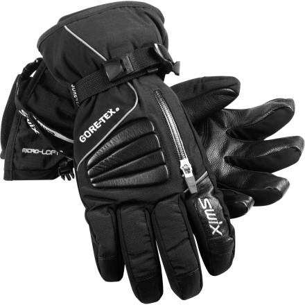 Ski Designed with a waterproof breathable Gore-Tex membrane and Swix's legendary mountain-expertise, the Avant-Garde Glove blends time-tested tech with an updated look. - $58.47