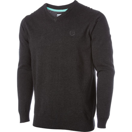 Surf When the weather starts to cool off head to the beach in your Billabong All Time Sweater. The All Time gives you a respectable look so the cops won't pick you up on the way to or from surfing. - $34.97