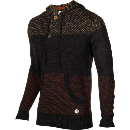 Surf Half awake, you get dressed and put on the Billabong Men's Rival Button Hooded Sweater. Getting dressed in the dark can be a risky proposition, but you can count on the Rival for a comfortable, casual look as you make your way to the coffee shop. - $67.01