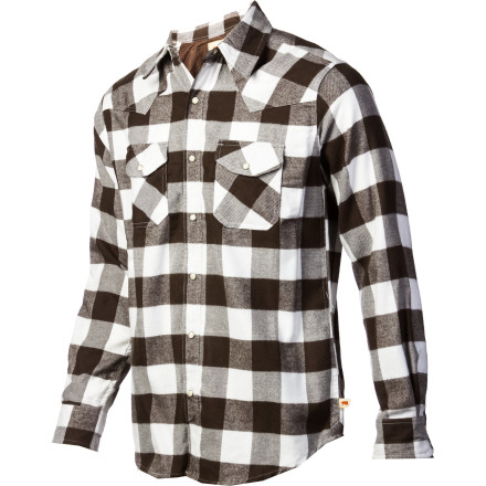 From bronc riding to mutton bustin, there's nothing that Dakota Grizzly Barton Flannel Shirt don't love about the Rodeo. - $35.72