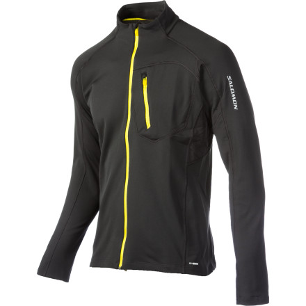 Climbing The Salomon Men's XA Midlayer Top keeps you on your A-game while you tour, ice climb, ski, or mountaineer. Its temperature-regulating fabric and active fit keeps you comfortable during intense outdoor activities and layers nicely beneath your shell while you tour. - $51.00