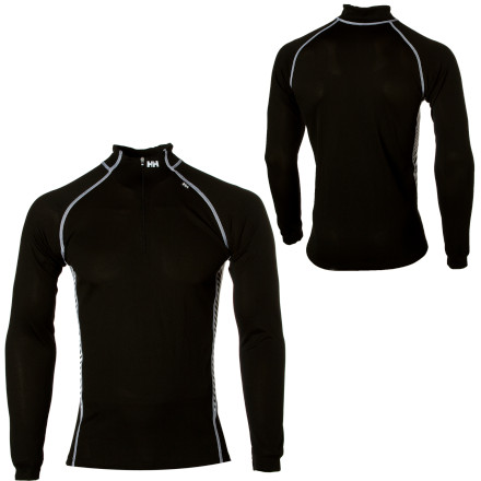 For classic, sporty baselayer style with new-age functionality, pull on the Helly Hansen Charger \275 Zip Top. Thanks to Lifa Stay Dry Technology, the Charger \275 Zip wicks moisture away from your body so you stay comfortable even during high-output activities. Form-fitting and constructed with flatlock panels, this top wont bunch under a shell or leave you chafed after a long day on the mountain. - $54.95