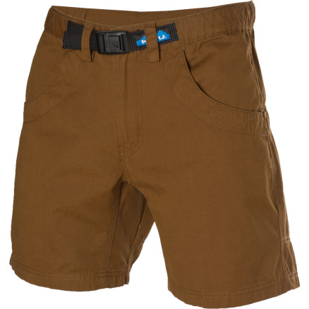 Camp and Hike With any activity like backpacking, hiking, climbing, or even casual use really, a heavy short that feels like a pair of drenched oversized denim pants with jars of mayonnaise in the pockets is less than ideal. Move easily and wear a stylish and durable short like the Kavu Chilli Lite Short. - $56.95