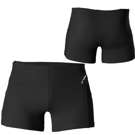 Fitness The Orca Men's CL-R Square Leg Water Short is constructed with a combination of polyester and PBT polyester tricot to make it 100% chorine-resistant. - $14.70