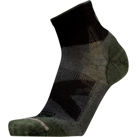 Camp and Hike Lorpen created the Merino Shorty Ultralight Hiker Sock for hikers, runners, and bikers who hit the trail no matter how high the summer temps rise. Plus, thanks to the versatility of merino wool, these Lorpen socks also provide insulation if the mercury happens to drop when you're miles from the trailhead. - $7.77