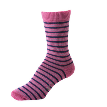 Snowboard The Teko Women's Vienna Sock is made from organic merino wool. Now that you know that you aren't destroying the Earth and that your feet won't stink, you can focus on the important things-the cool stripes. - $8.45