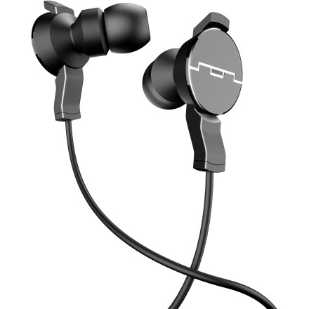 Entertainment Who knew such big sound could come in such a small package' The Sol Republic Amps In-Ear Headphones feature i4 Sound Engines for high clarity and deep bass, and its StayFit design is ergonomic so it comfortably stays in your ear without falling out. - $59.95