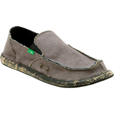 The secret society of David Rastovich has brought to you the eco-friendly Sanuk Mens Rasta Wombat Shoe. They have consorted with the head of the Wombats and have designed a shoe that when discarded after years of use can be eaten by fellow wombats in case all of their natural food supply has gone to shit. Mmmmhemp. - $14.99